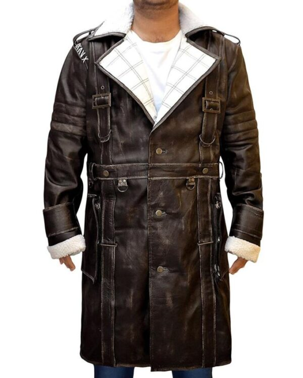 Elder Maxson Fallout 4 Trench Leather Coat