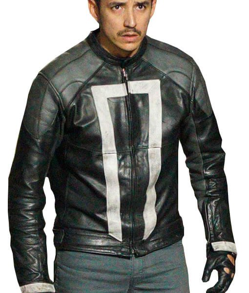 Ghost Rider Agent Of SHIELD Black Jacket