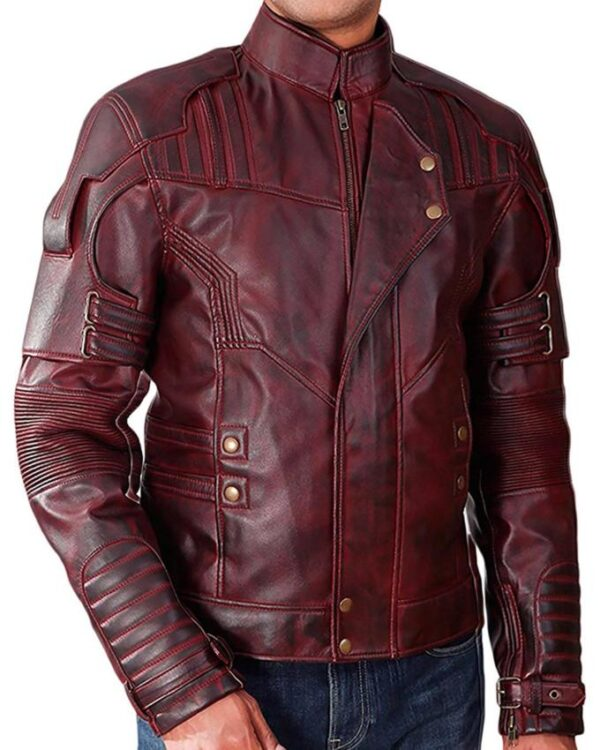 Chris Pratt Guardians Of The Galaxy Vol 2 Leather Jacket