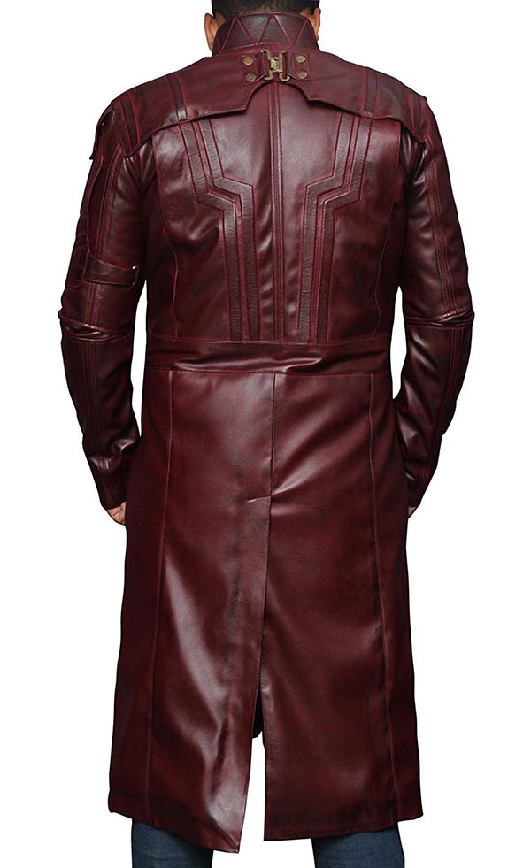 Star Lord Guardians of the Galaxy Leather Coat