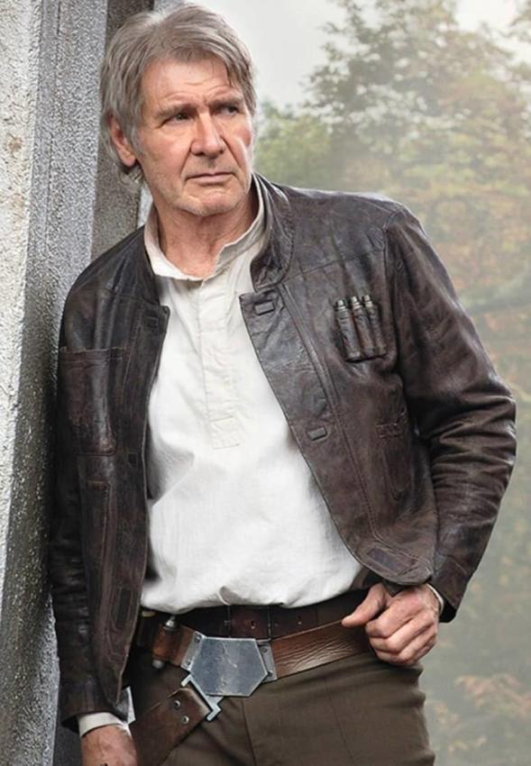 Star Wars Han Solo Brown Jacket