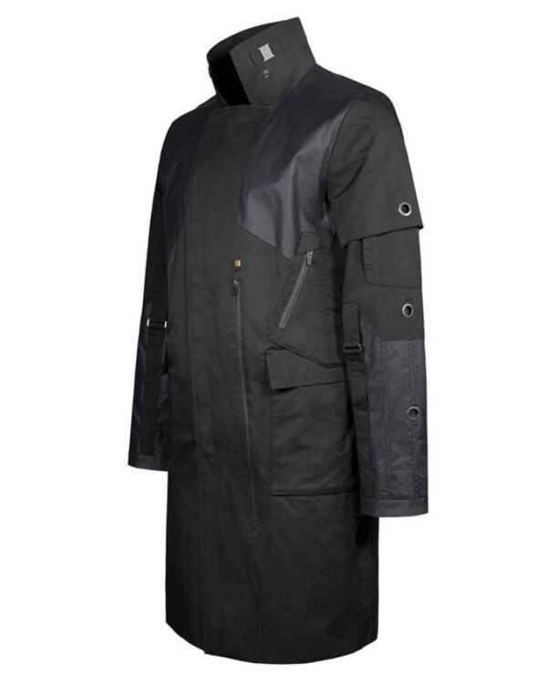 Mankind Divided Human Revolution Black Trench Coat