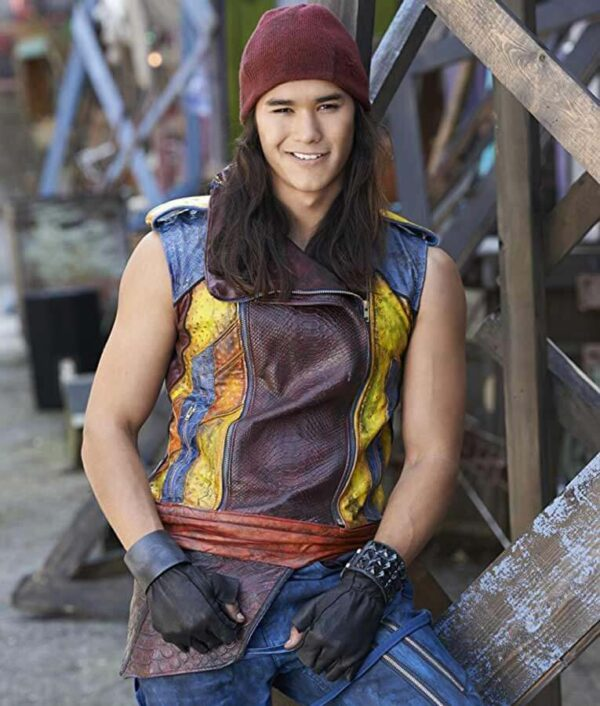 Descendants Jay Leather Vest