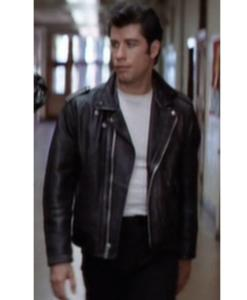 Grease John Travolta Leather Jacket