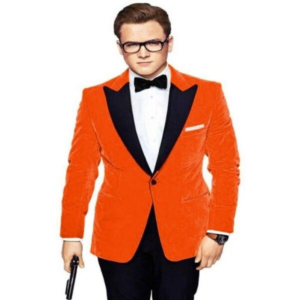 Eggsy Kingsman The Golden Circle Tuxedo