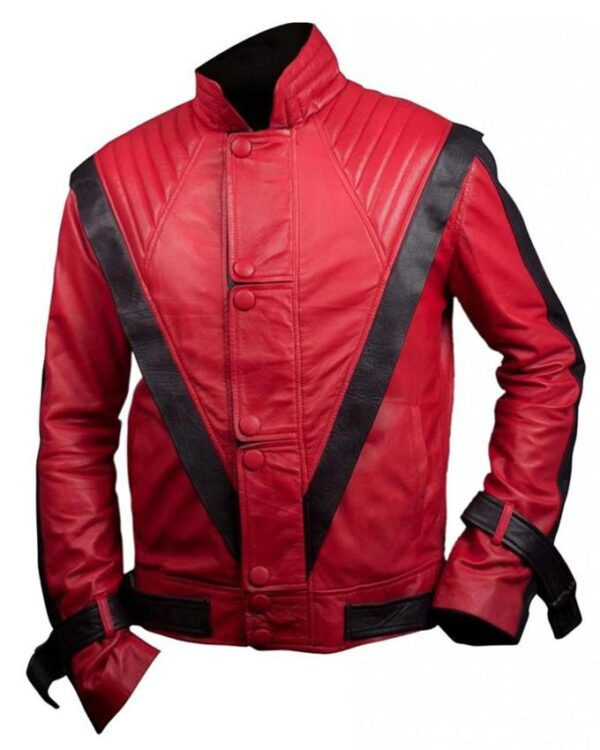 Thriller Michael Jackson Red Jacket