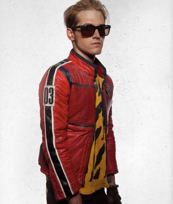 Kobra Kid Mikey Way Red Jacket