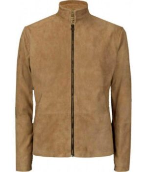 James Bond Morocco Leather Jacket