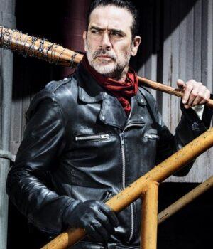 Negan Jacket -Leather Jacket Black