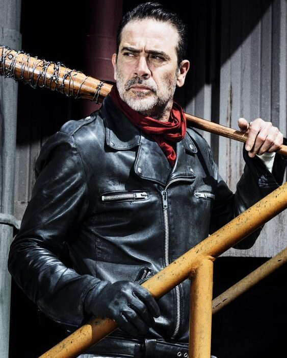 Negan Walking Dead Black Jacket