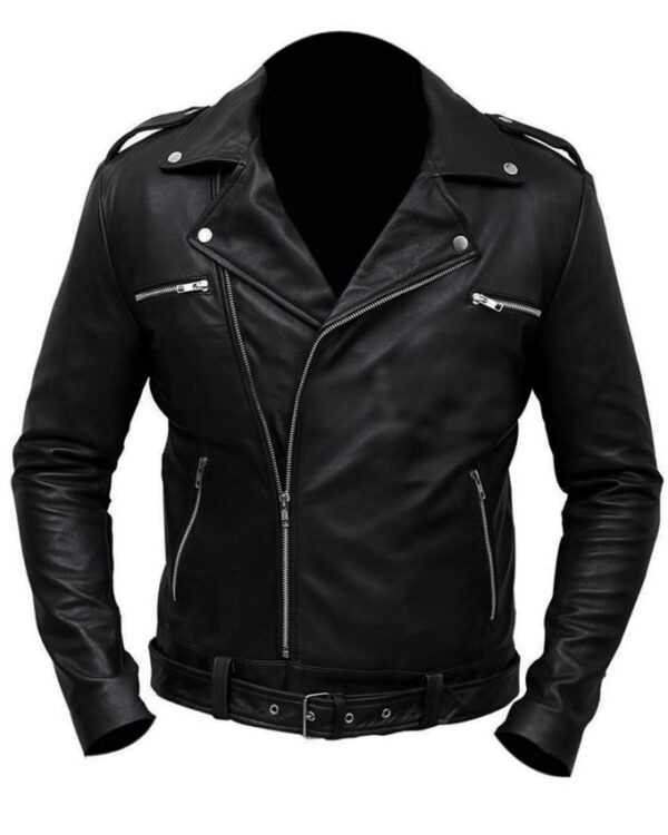 The Walking Dead Negan Black Jacket