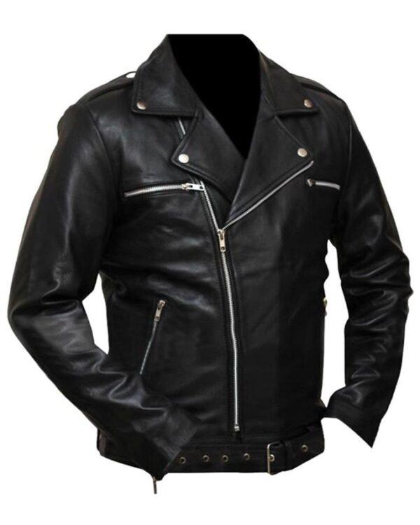 The Walking Dead Negan Motorcycle Jacket
