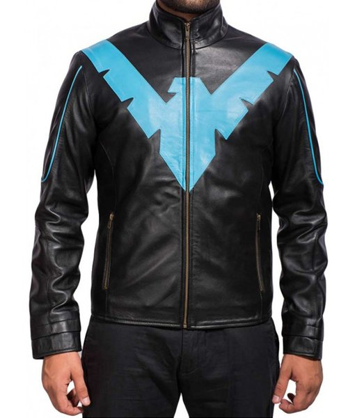 Arkham Knight Nightwing Black Jacket