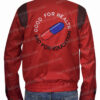 Red Akira Kaneda Capsule Jacket Back