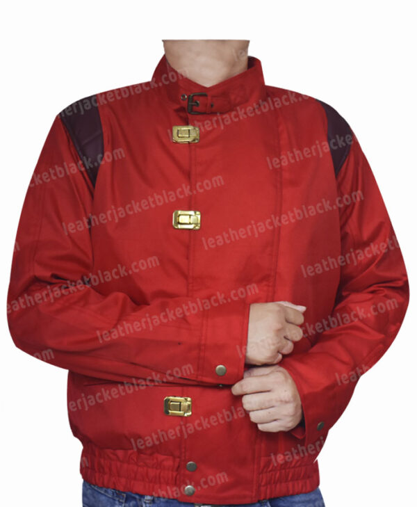 Red Akira Kaneda Capsule Jacket Front