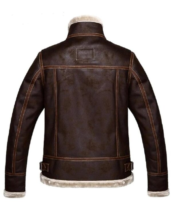 Leon Kennedy Resident Evil 4 Brown Leather Jacket