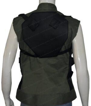 Scarlett Johansson Avengers Infinity War Black Widow Vest Back