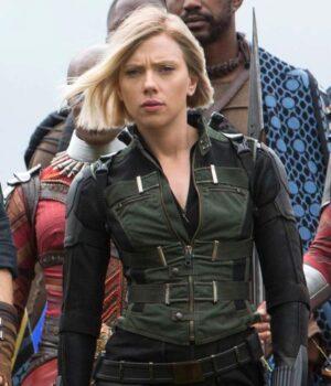 Avengers Infinity War Scarlett Johansson Vest