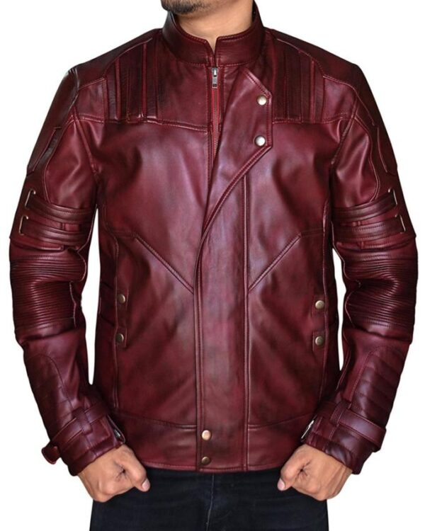 Guardians Of The Galaxy Vol 2 Star Lord Leather Jacket
