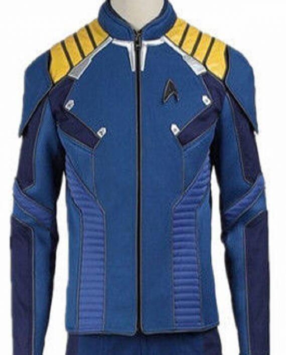 Captain James Kirk Star Trek Beyond Uniform Jacket