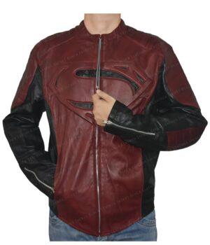 Smallville Superman Maroon And Black Jacket Main