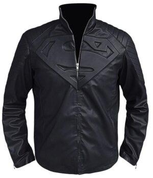 Clark Kent Superman Smallville Black Jacket