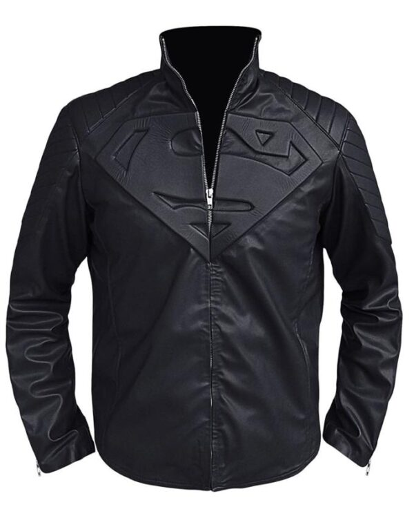 Clark Kent Superman Smallville Black Jacket