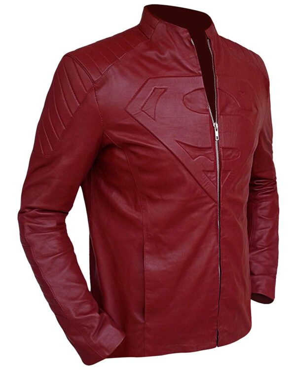Smallville Superman Maroon Jacket