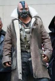 Bane The Dark Knight Rises Shearling Coat