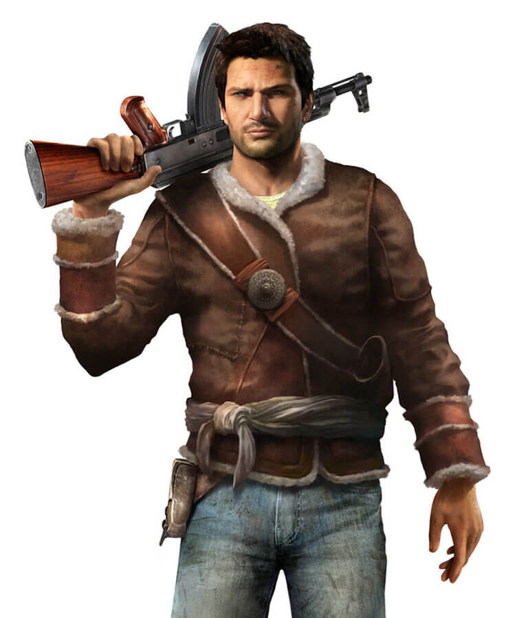 Nathan Drake Uncharted 2 Jacket