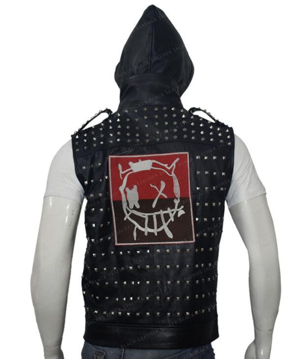 Watch Dogs 2 Studded Vest Back