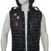 Watch Dogs 2 Studded Vest Down Hood