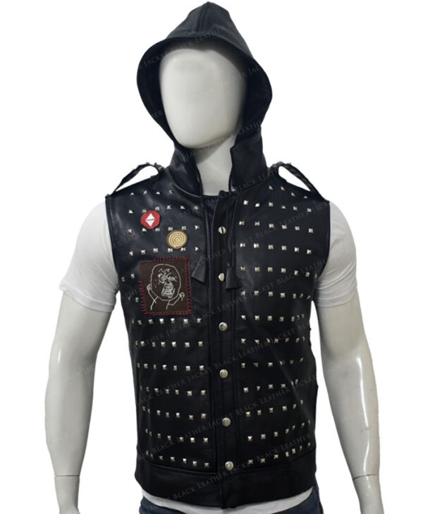 Watch Dogs 2 Studded Vest Front