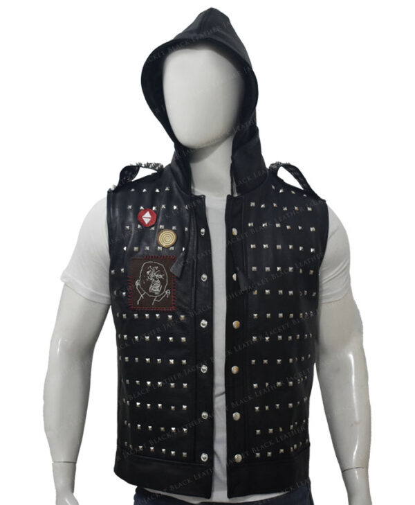 Watch Dogs 2 Studded Vest Up Hood