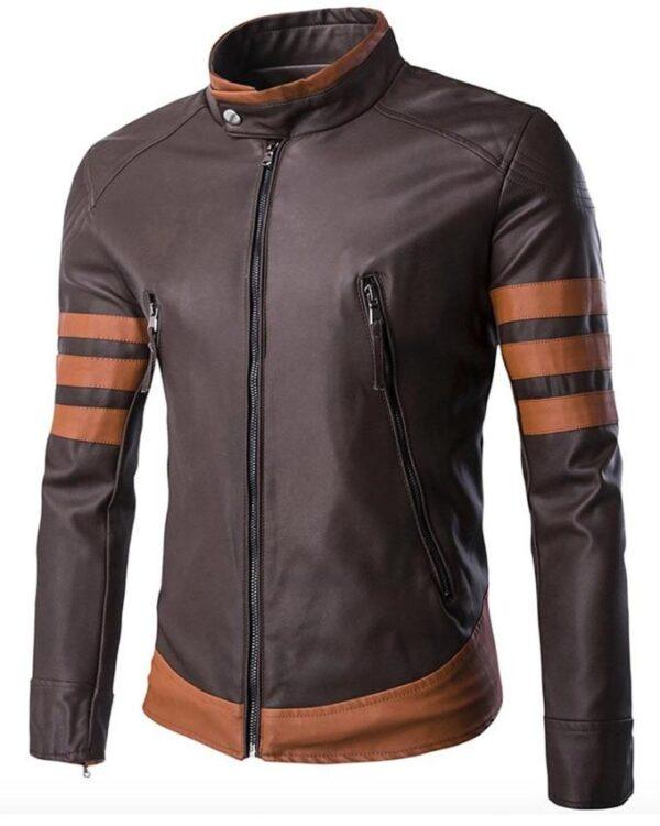 X-Men Origins Wolverine Brown Jacket