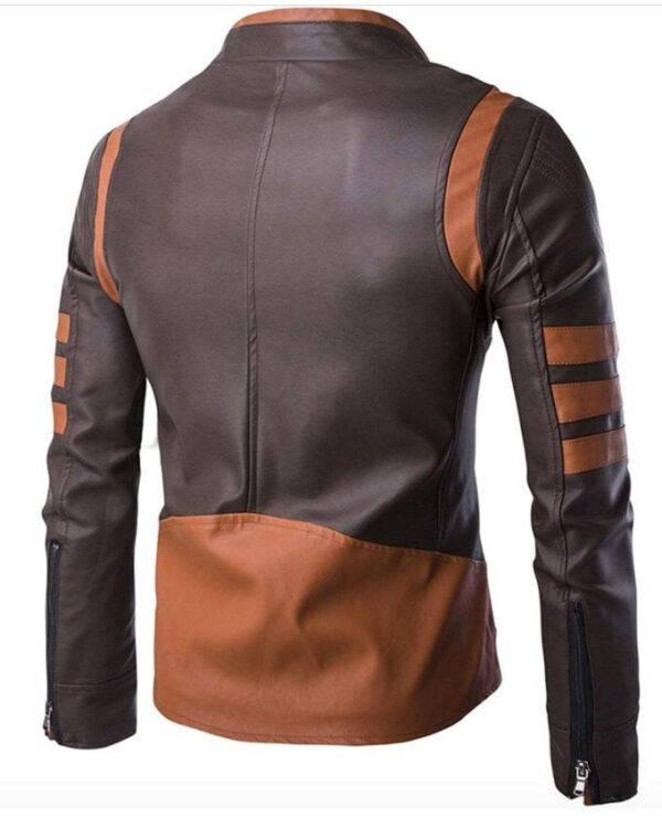 Wolverine X-Men Origins Brown Leather Jacket