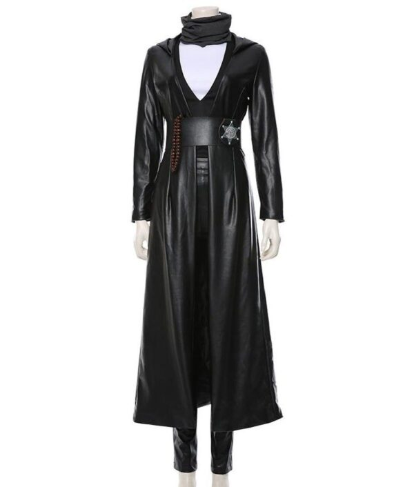 Watchmen Angela Abar Black Coat