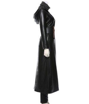 Watchmen TV Series Angela Abar Black Coat