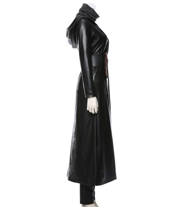 Watchmen TV Series Angela Abar Black Coat