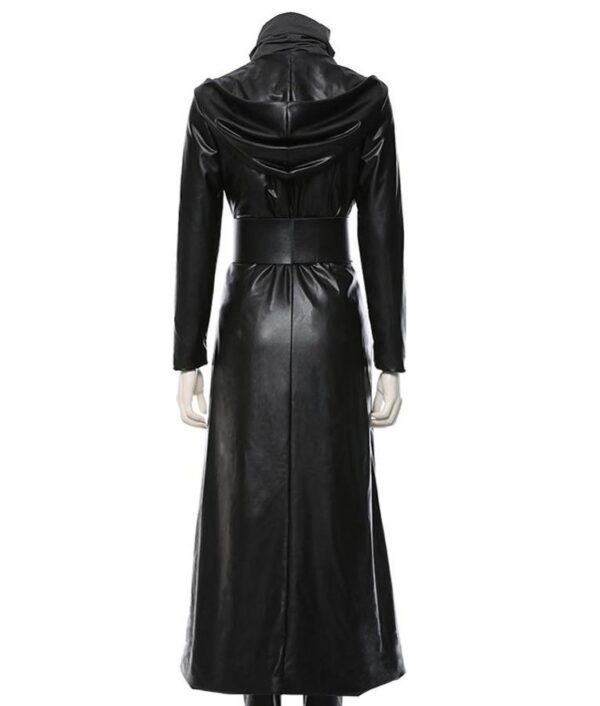 Watchmen TV Series Angela Abar Black Leather Coat