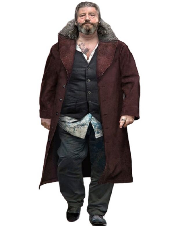 Detroit Become Human Clancy Brown Trench Coat