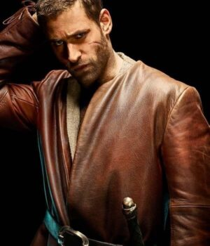 Emerald City Lucas Leather Brown Jacket