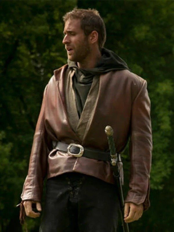 Lucas Emerald City TV Series Brown Jacket