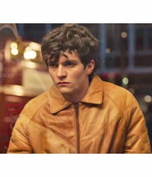 Fionn Whitehead Black Mirror Bandersnatch Leather Jacket