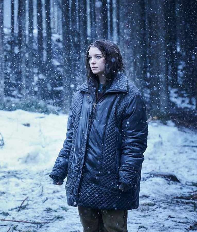 Hanna TV Series Esme Creed Miles Quilted Black Jacket