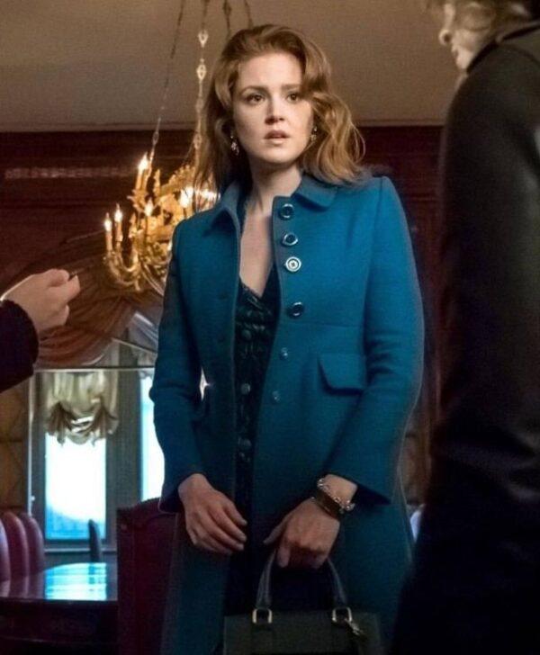 Ivy Pepper Gotham TV Series Coat