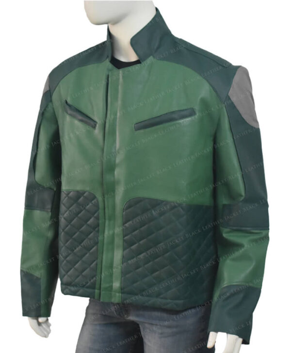 Kazuda Xiono Star Wars Resistance Jacket Left Side