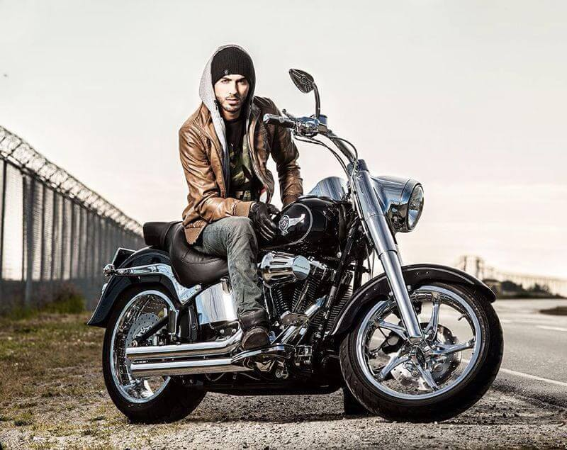 Leather Jacket Black offers Holiday gifts for men's