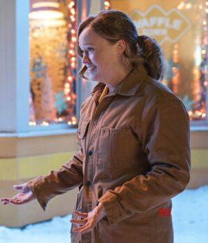 Liv Hewson Let It Snow Cotton Jacket