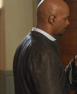 Roger Murtaugh Lethal Weapon Brown Leather Jacket